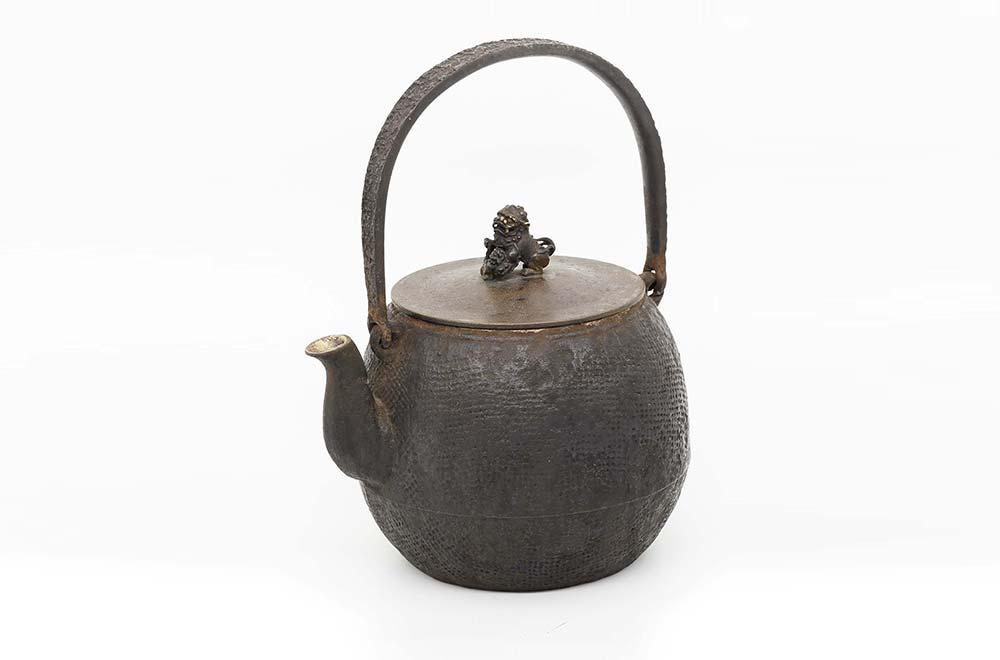 神獸銅蓋製茶壺